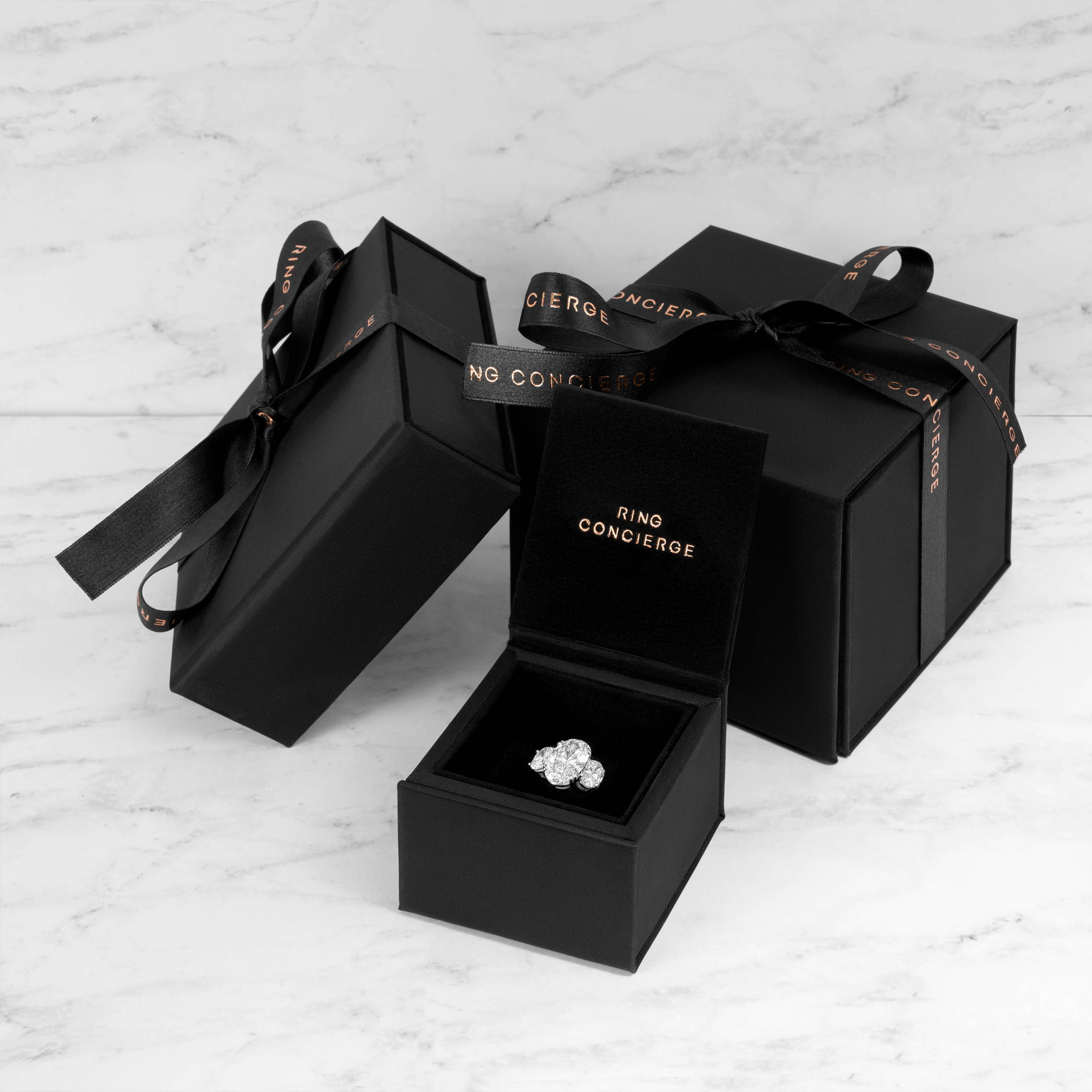 Ring Concierge gift boxes