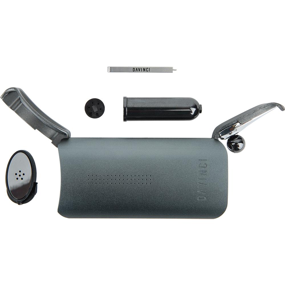 Davinci IQ Portable Vaporizer piece by piece