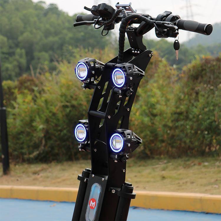 Yume X7 headlights
