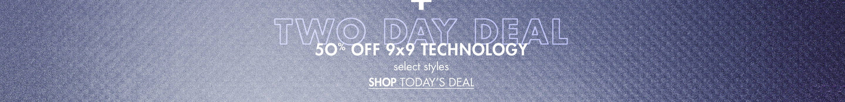 50% Off 9x9 Technology