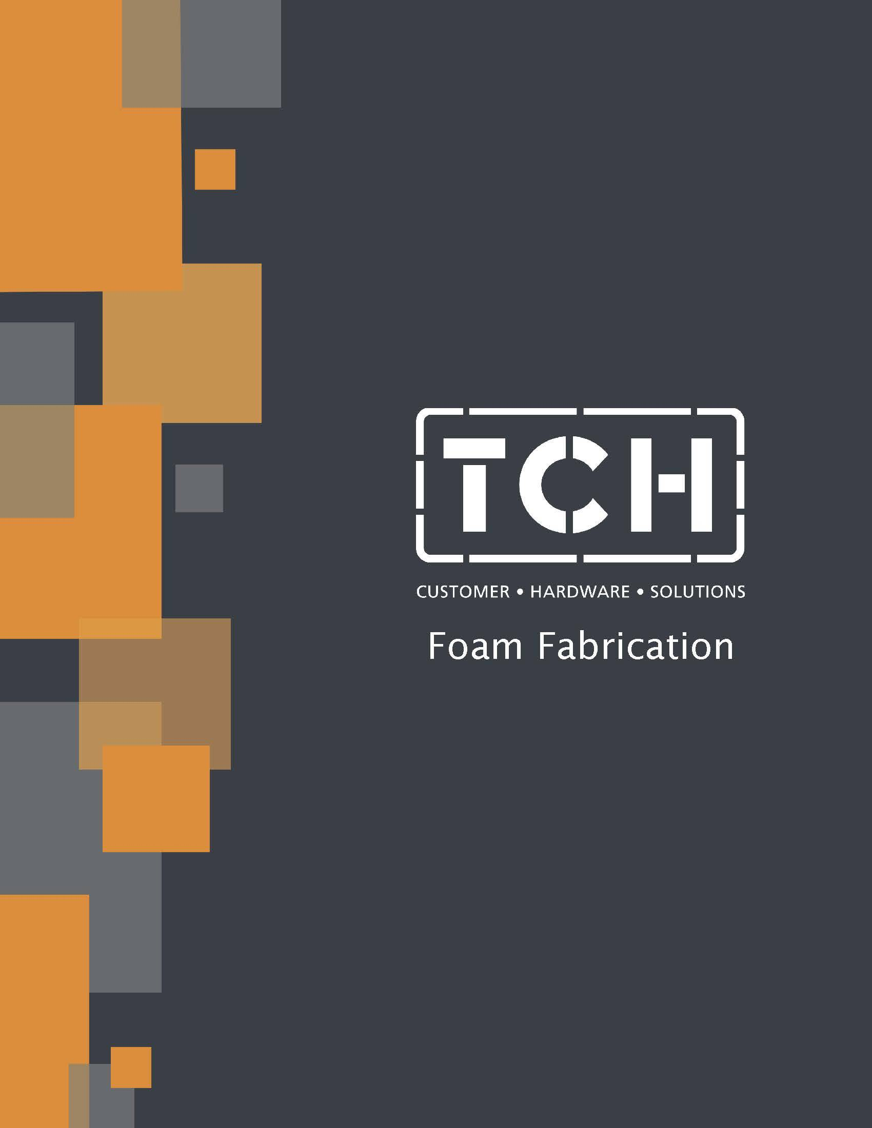 Cover of TCH's Foam Fabrication line card
