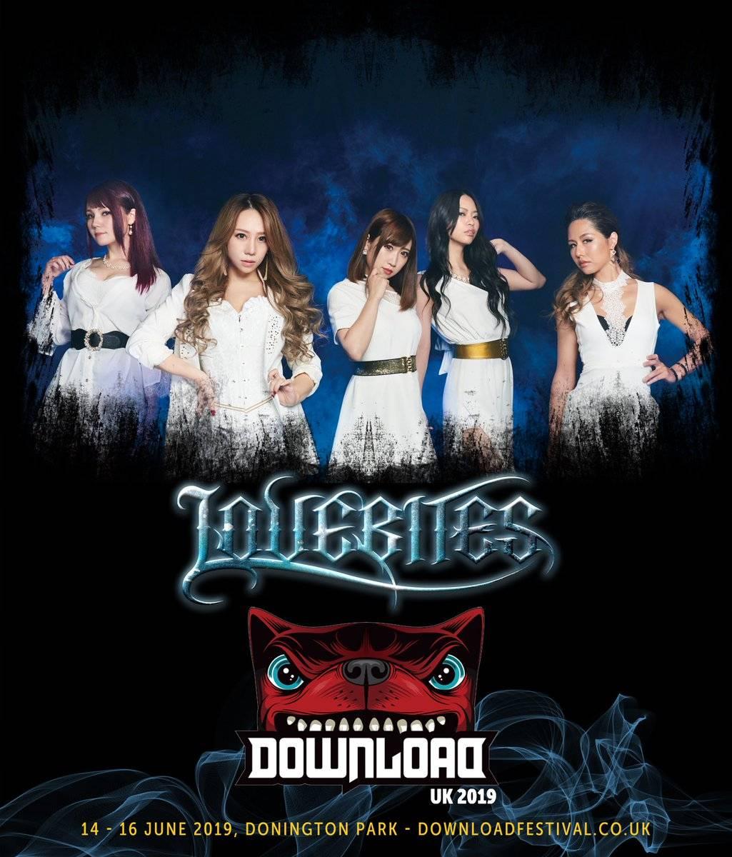 LOVEBITES Japanese female heavy metal band pic