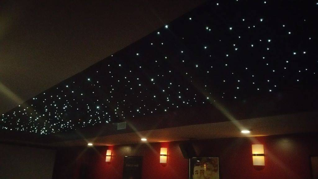 Star galaxy ceiling ideas from Brand Lighting