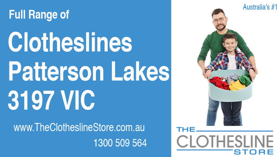 New Clotheslines in Patterson Lakes Victoria 3197
