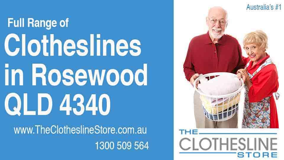 New Clotheslines in Rosewood Queensland 4340