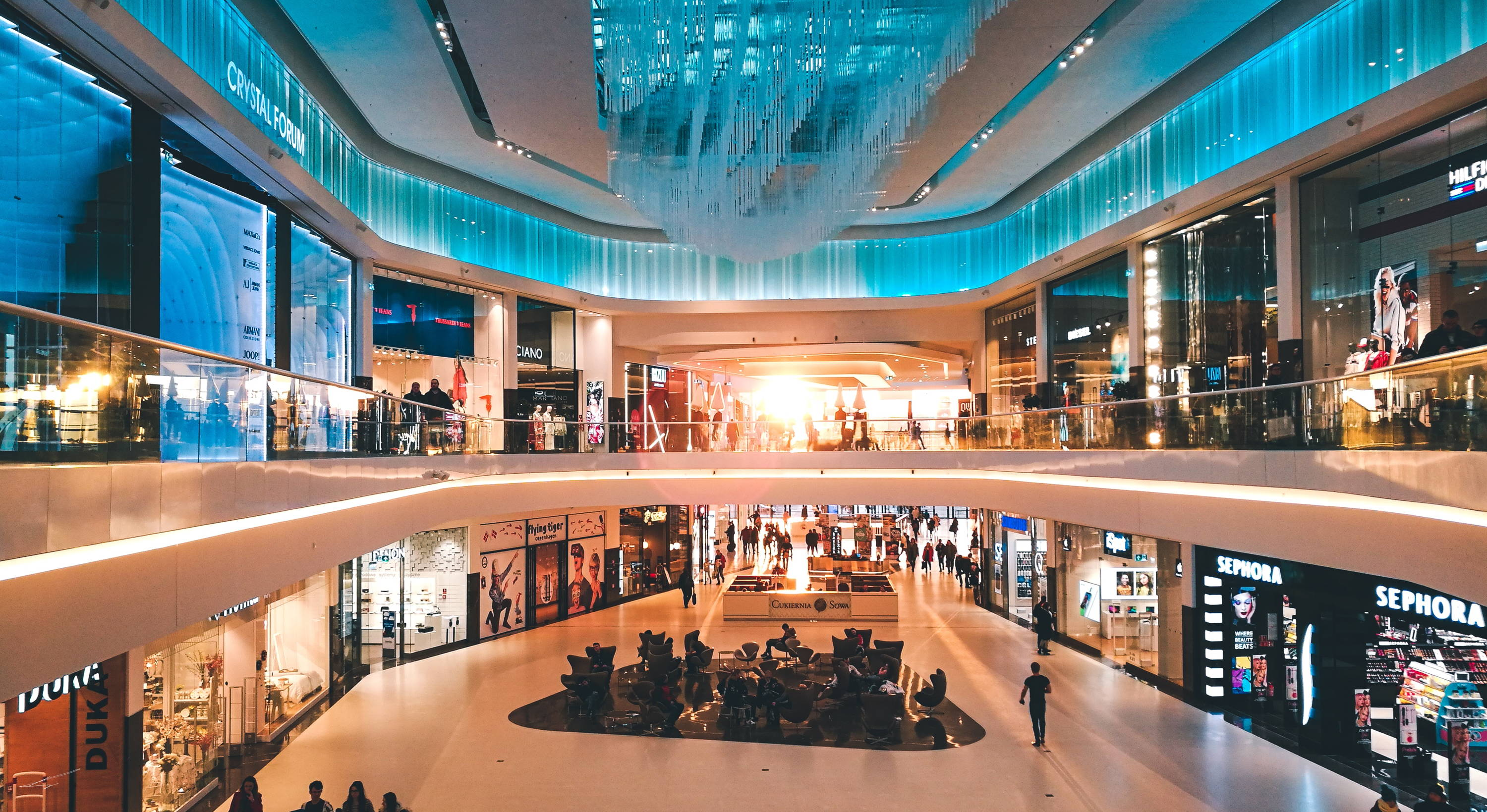 picture of a shopping mall
