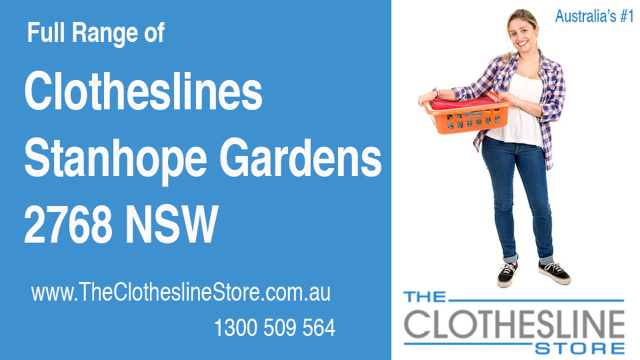 New Clotheslines in Stanhope Gardens 2768 NSW