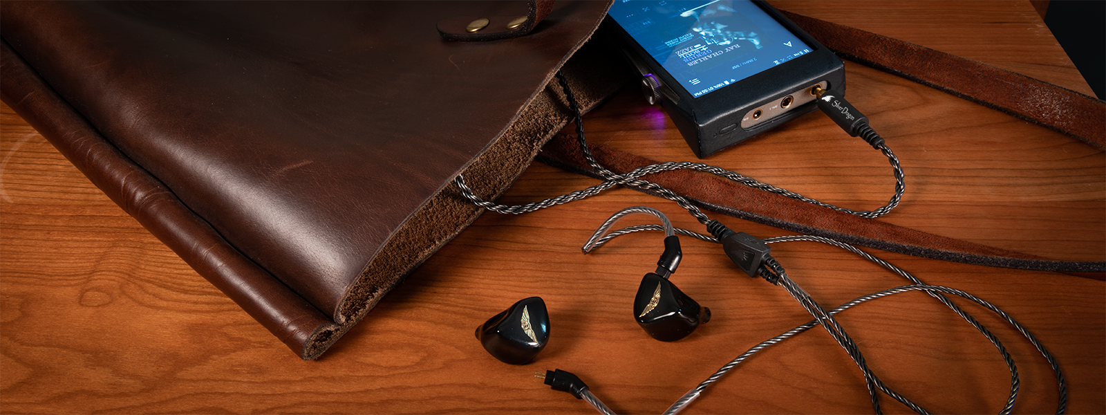 Legend X IEM with Silver Dragon Cable and Astell&Kern SE180 DAP
