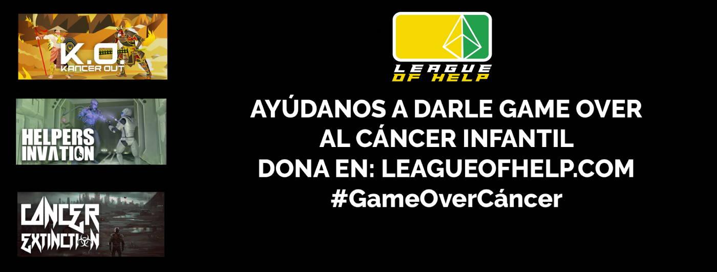 Ayúdanos a darle Game Over al cáncer infantil