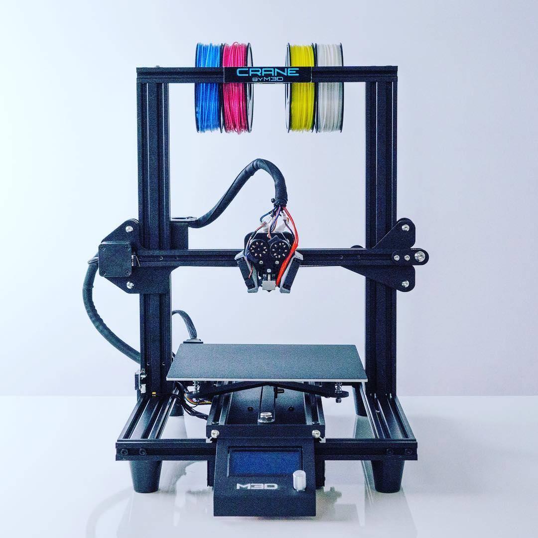 M3D: 3D Printers, 3D Printing Filaments, 3D Printer Parts