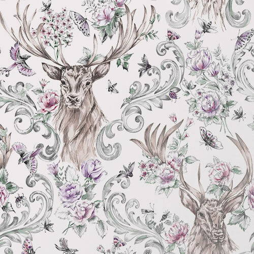 Graham and Brown Stag Wallpaper