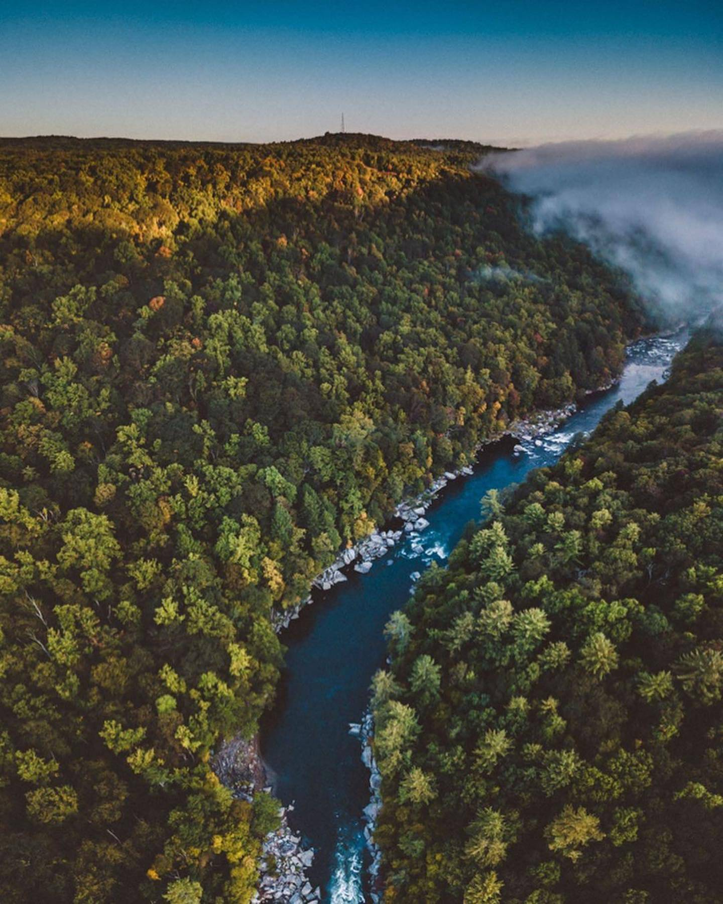 The Youghiogheny River in Ohiopyle State Park