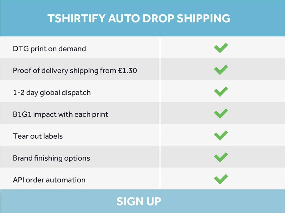 Tshirtify Auto Dropshipping | Tshirtify