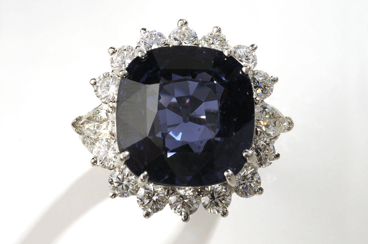 Image of Duchess Sapphire Ring in the Hall of Gems