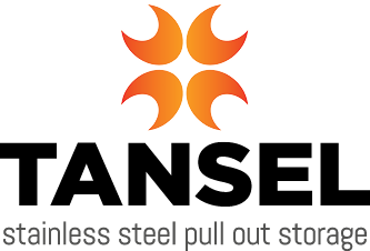 Tansel Stainless Steel Pull Out Storage