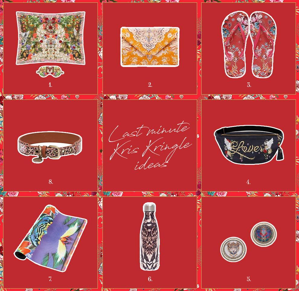 Eight CAMILLA accessories for last minute Kris Kringle Ideas
