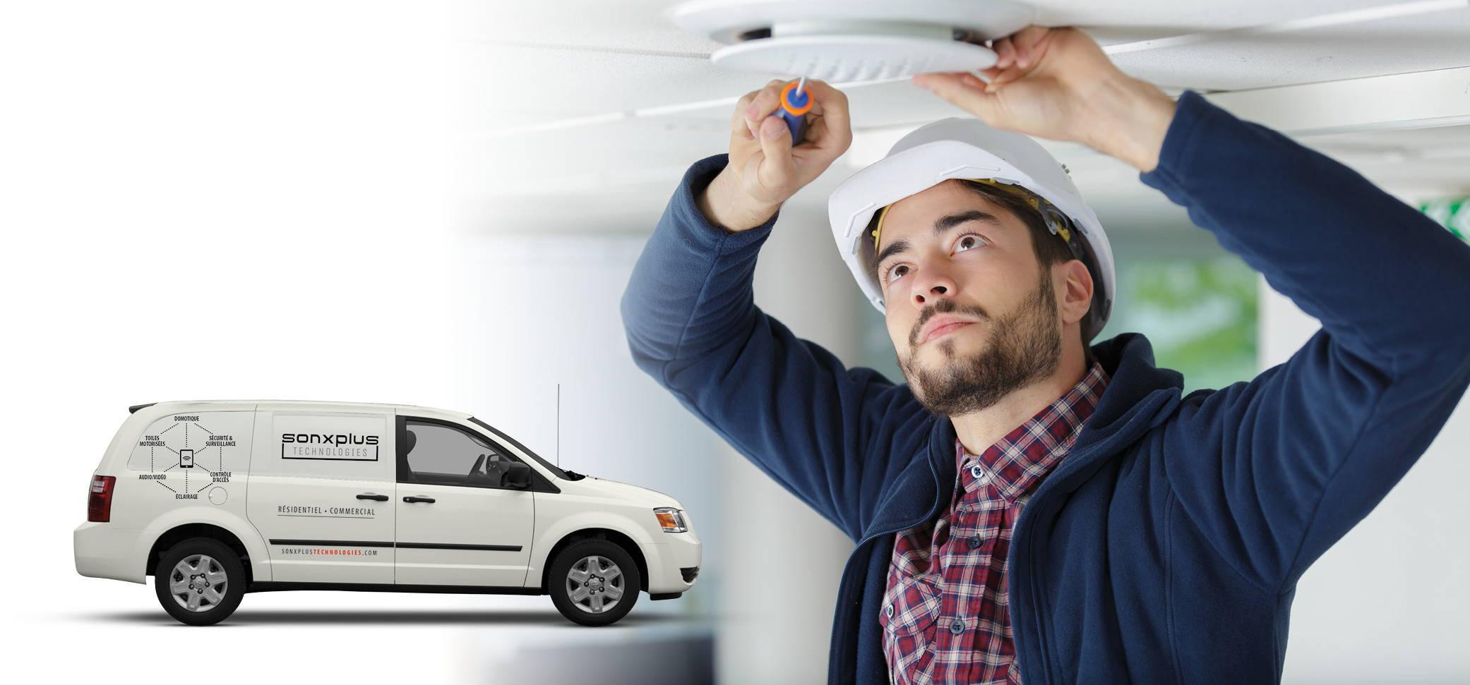 Services installation audio vidéo | SONXPLUS Lac St-Jean