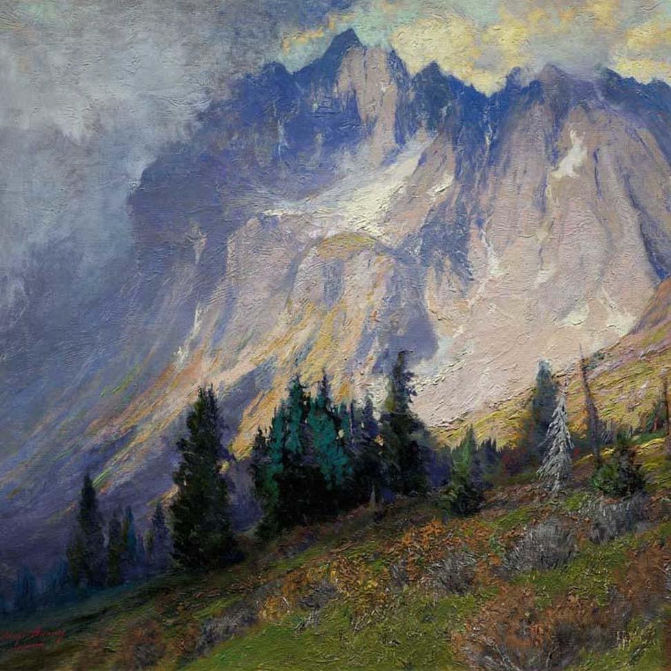 Charles Partridge Adams Art