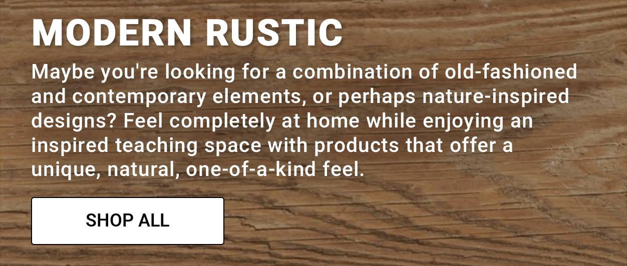 Modern Rustic Classroom Theme
