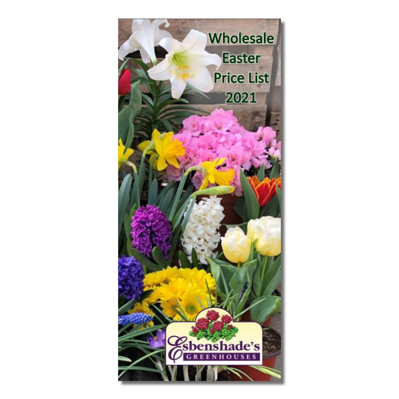 Esbenshade's 2021 Wholesale Easter Price List