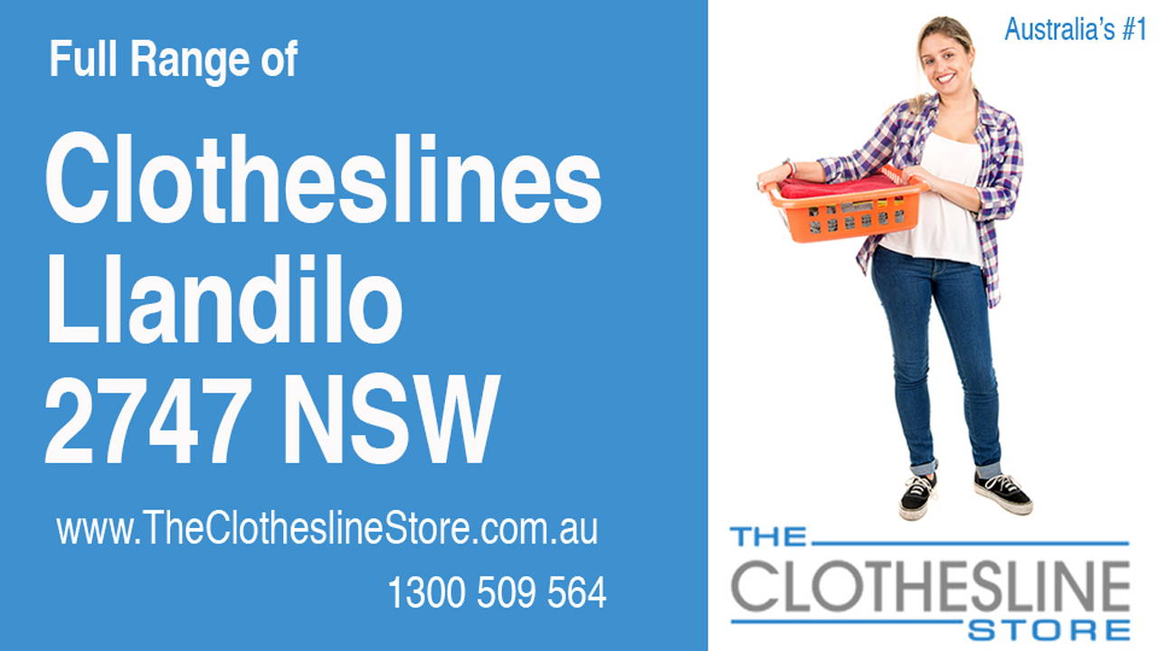 New Clotheslines in Llandilo 2747 NSW