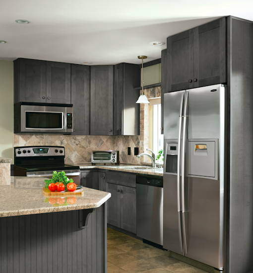 Solid Wood Kitchen Cabinets Made In Usa: Expression Series Proudly Made In