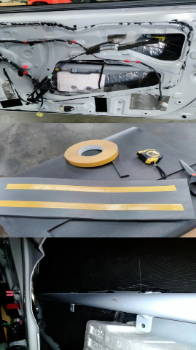 2010 Scion tC Door Soundproofing