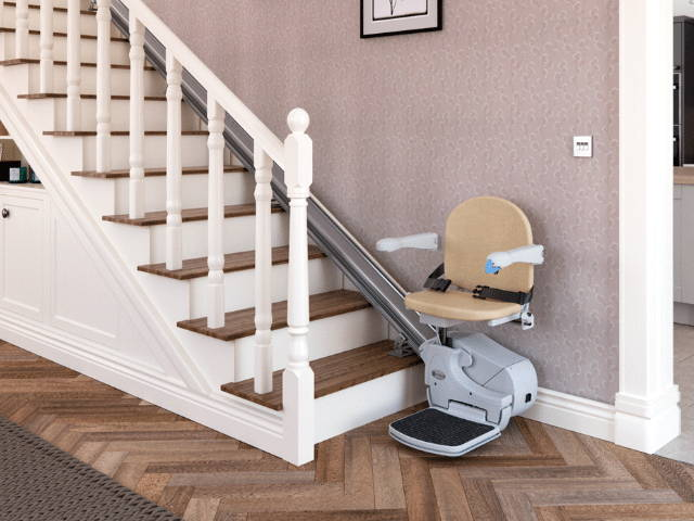 Lowest price indoor stairlift Handicare 950 Simplicity by VIVA Mobility USA | Orlando, FL