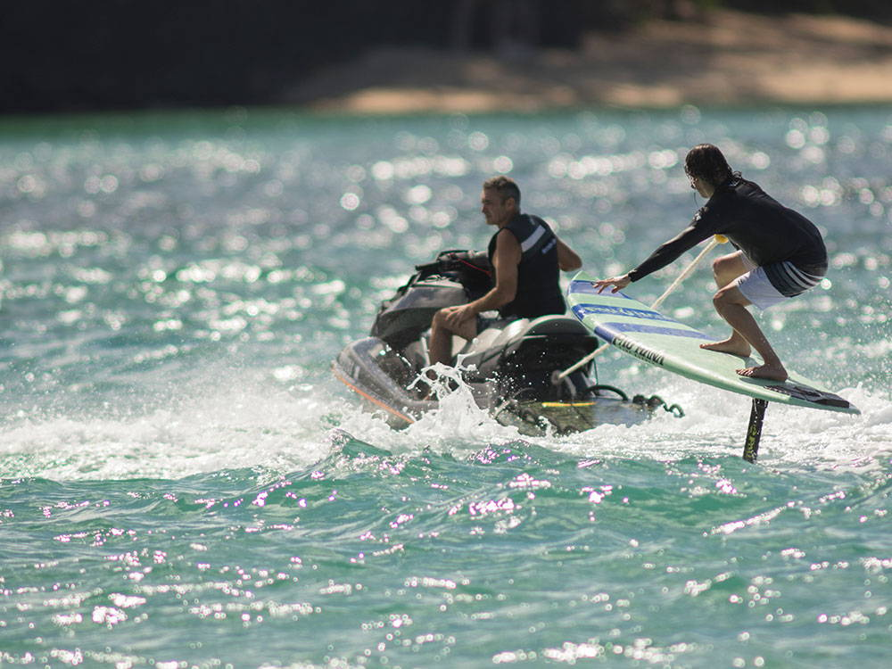 Pro surf stand up paddle board from Pau Hana.
