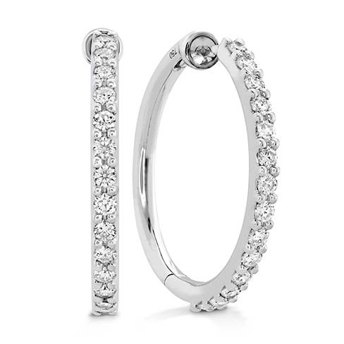 Hearts On Fire Diamond Inside-Out Hoop Earrings