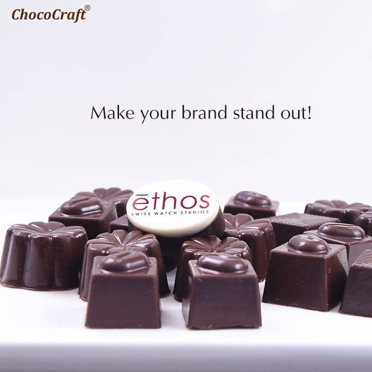 Logo chocolates corporate gift idea