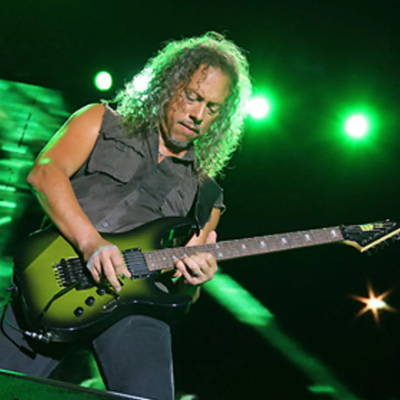 Kirk Hammett of Metallica recycled guitar string bracelets and jewelry