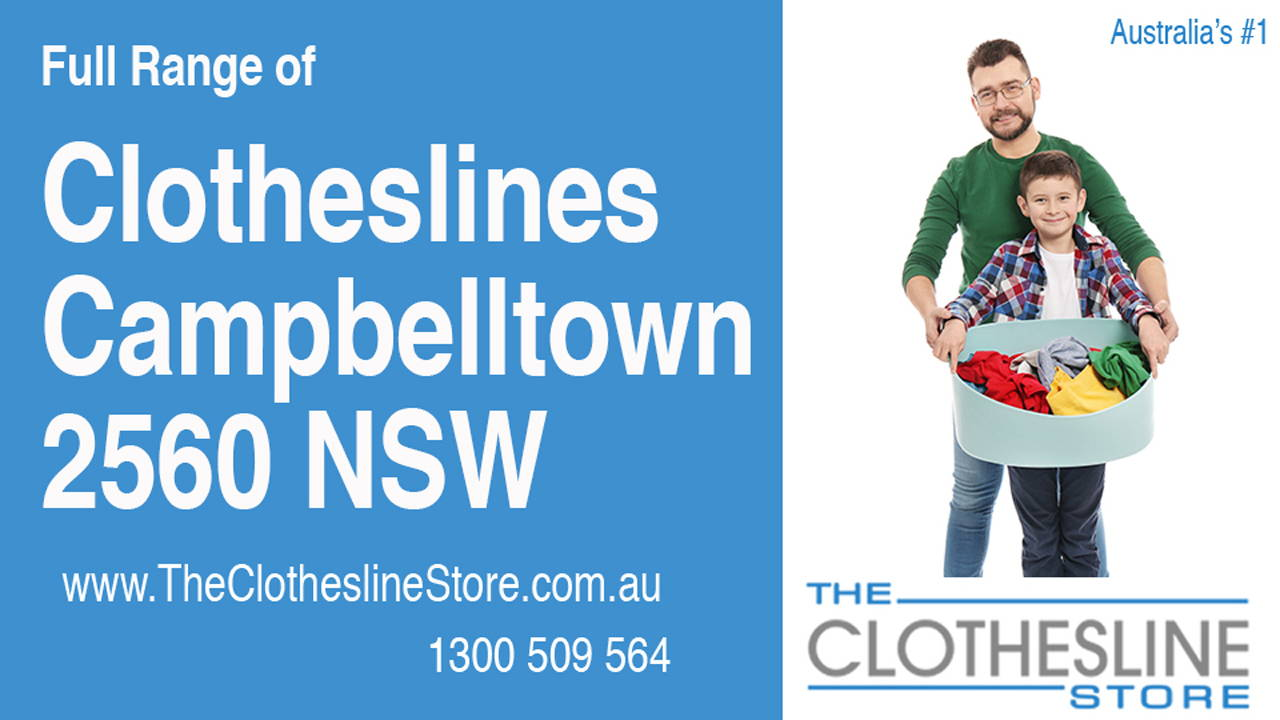 New Clotheslines in Campbelltown 2560 NSW
