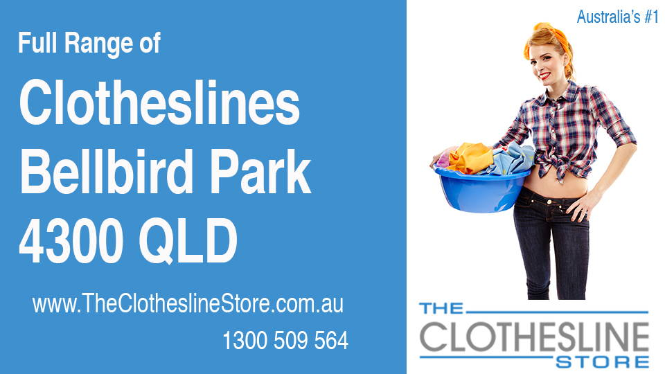 New Clotheslines in Bellbird Park Queensland 4300