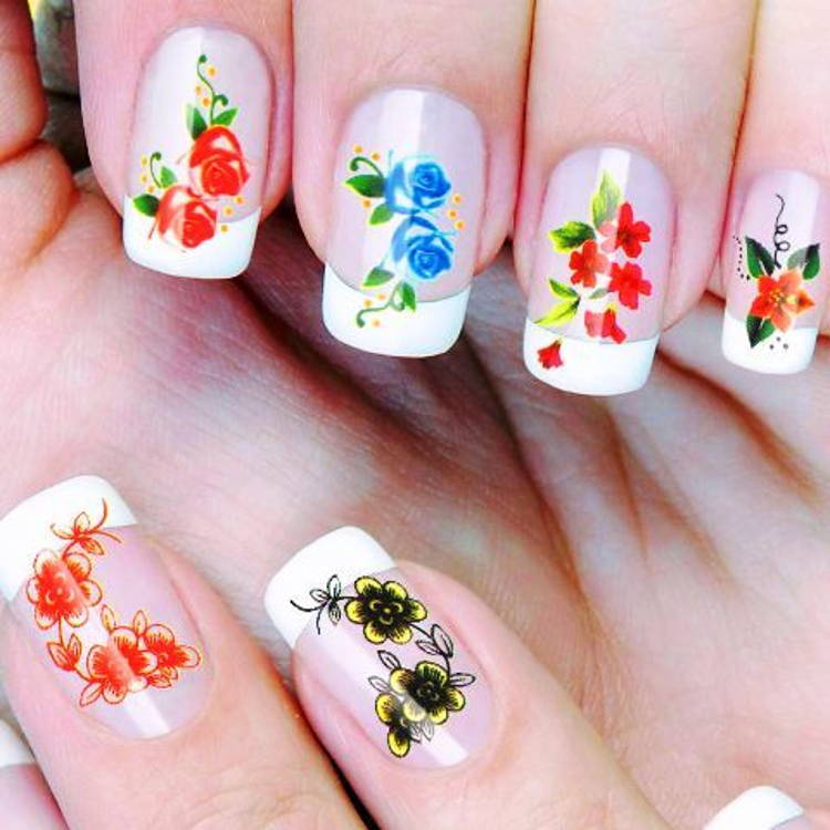 autocollants pour le Nail Art