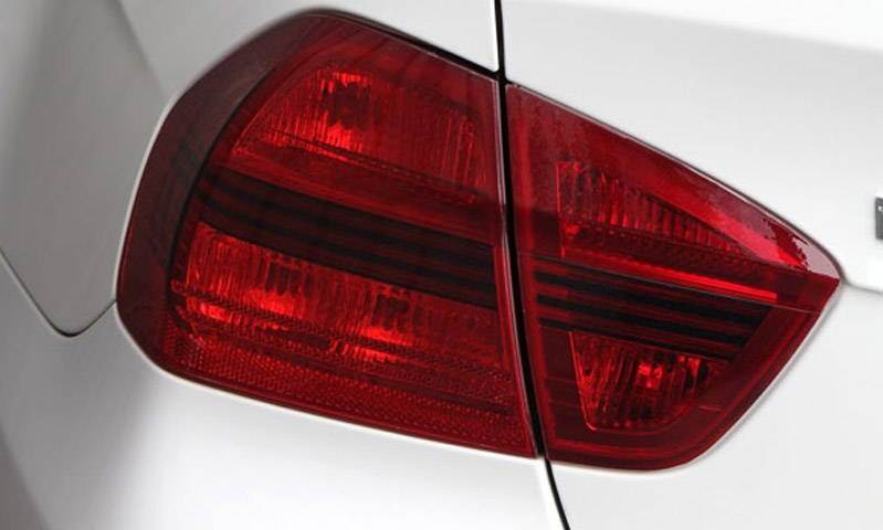 Tint Lamin-x tail light film covers