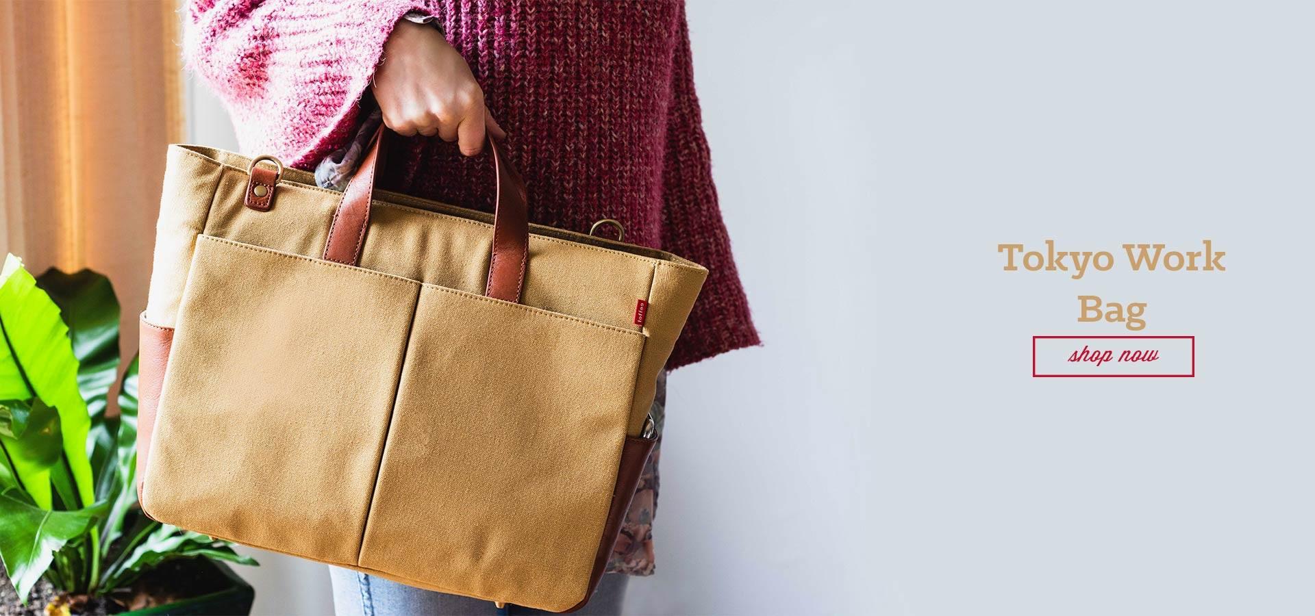 Toffee Cases - Tokyo Work Bag