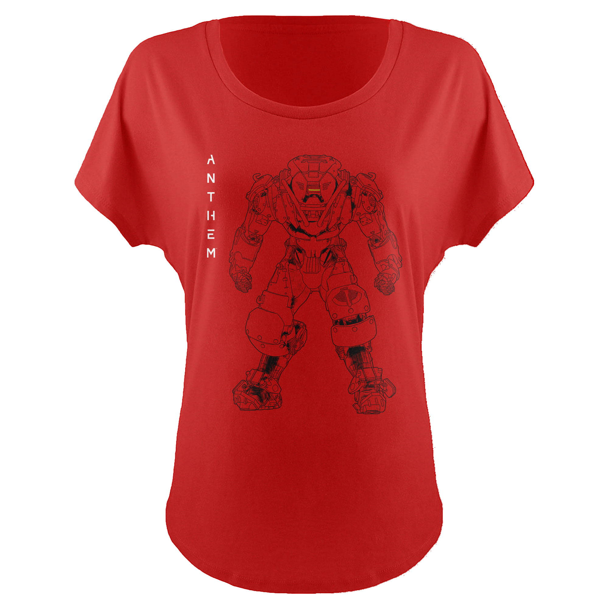 ANTHEM COLOSSUS LINEART WOMEN'S DOLMAN TEE
