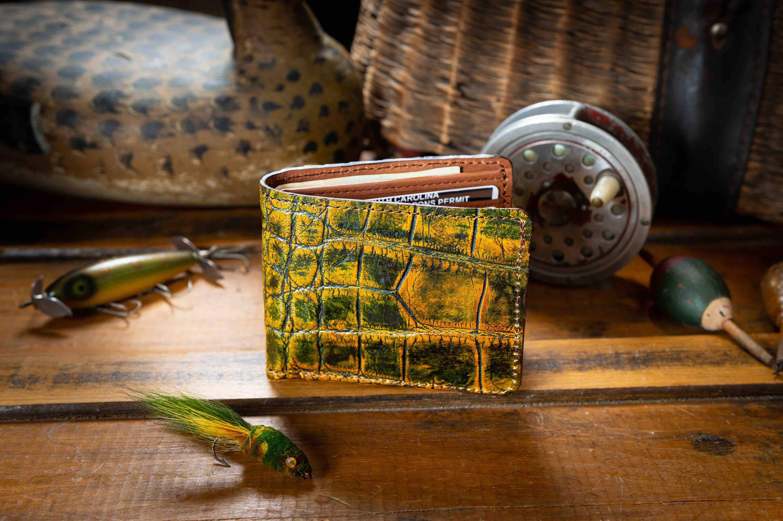 custom alligator wallet