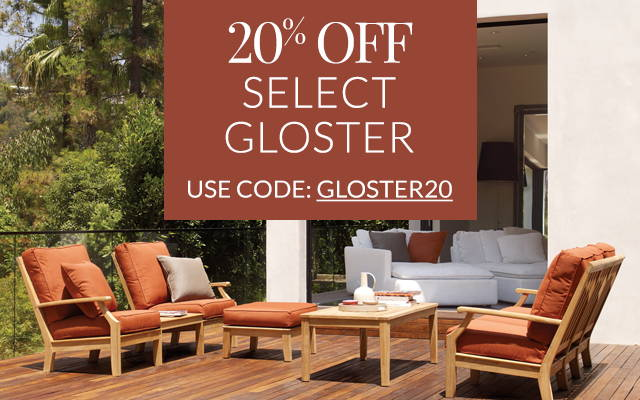 20% off select Gloster