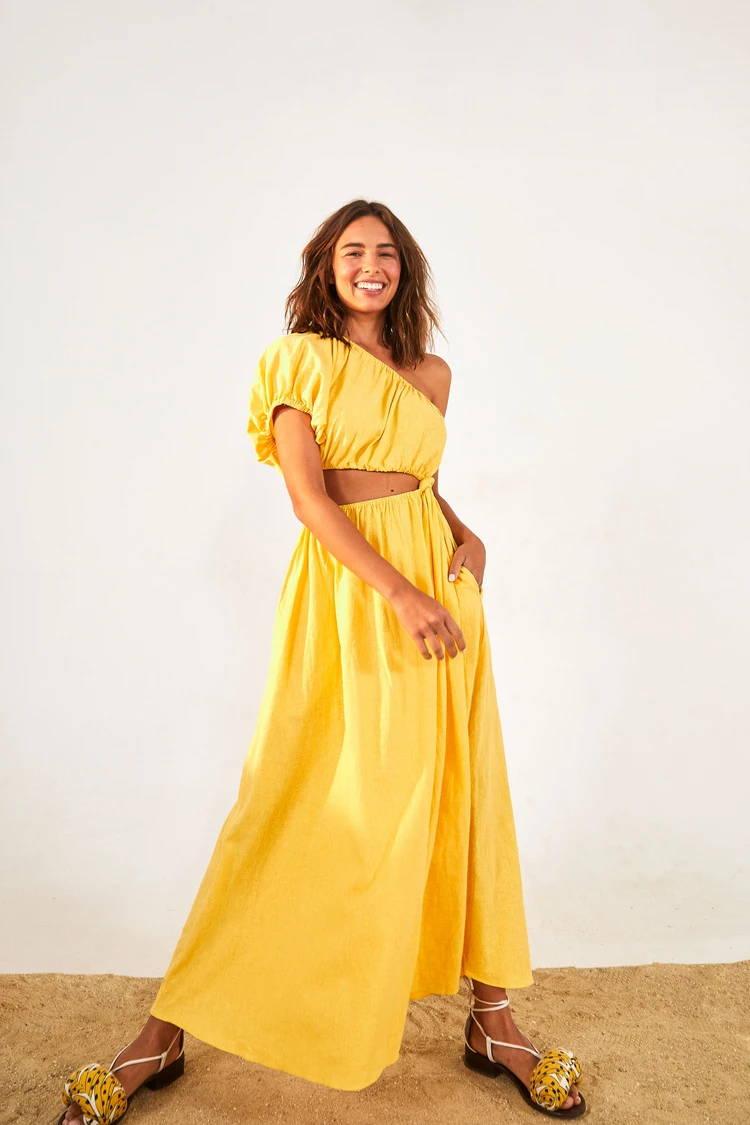 The flary summer dress