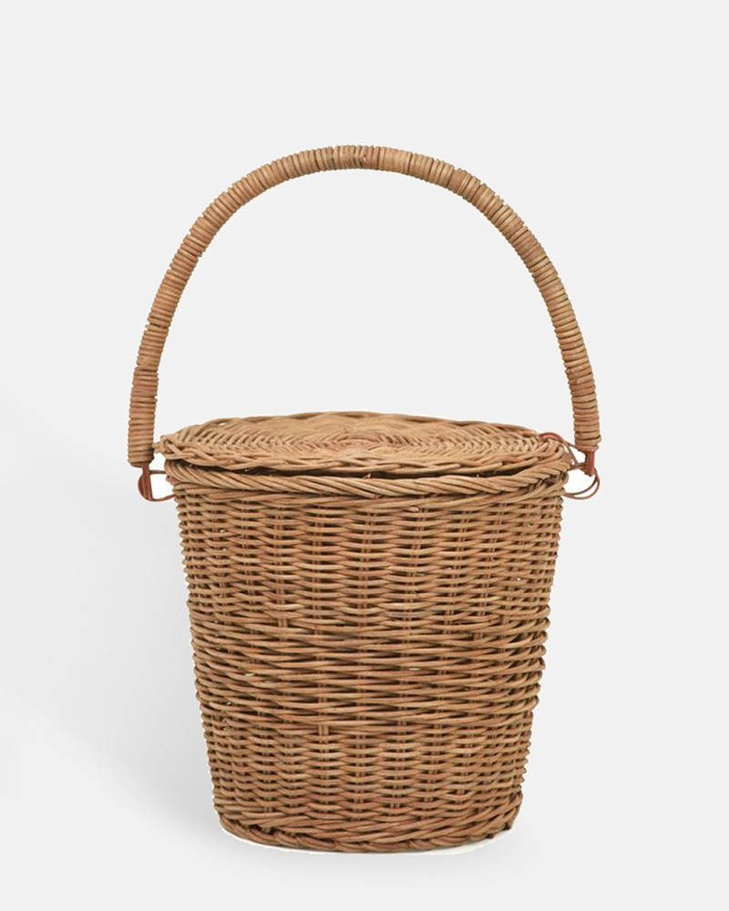 Product photography of Olli Ella's Big Apple Basket at The Hambledon