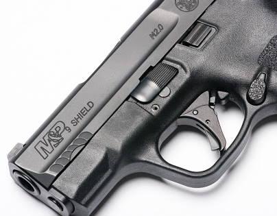 Smith & Wesson M&P Shield cannon