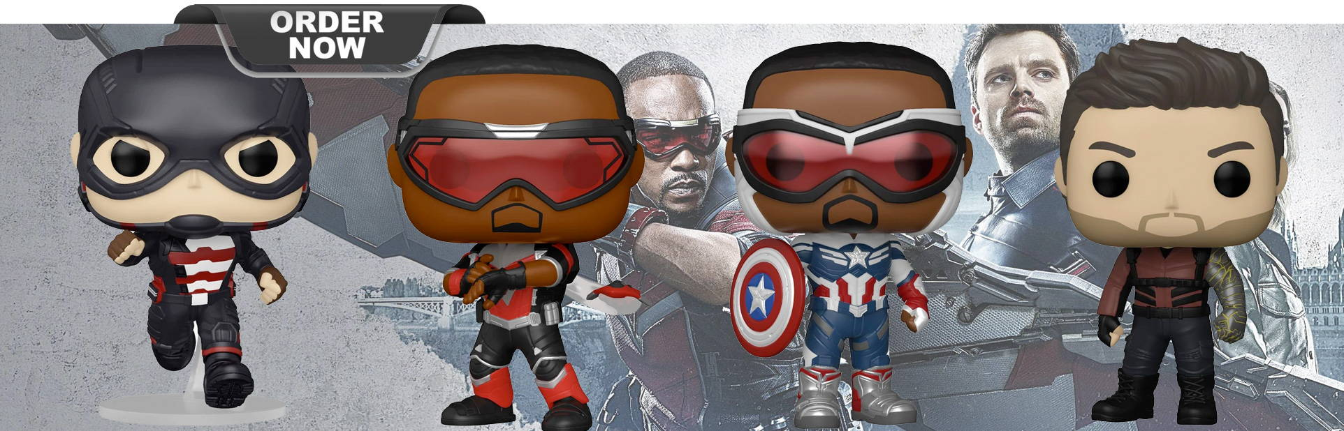 The Falcon and Winter Soldier Collection