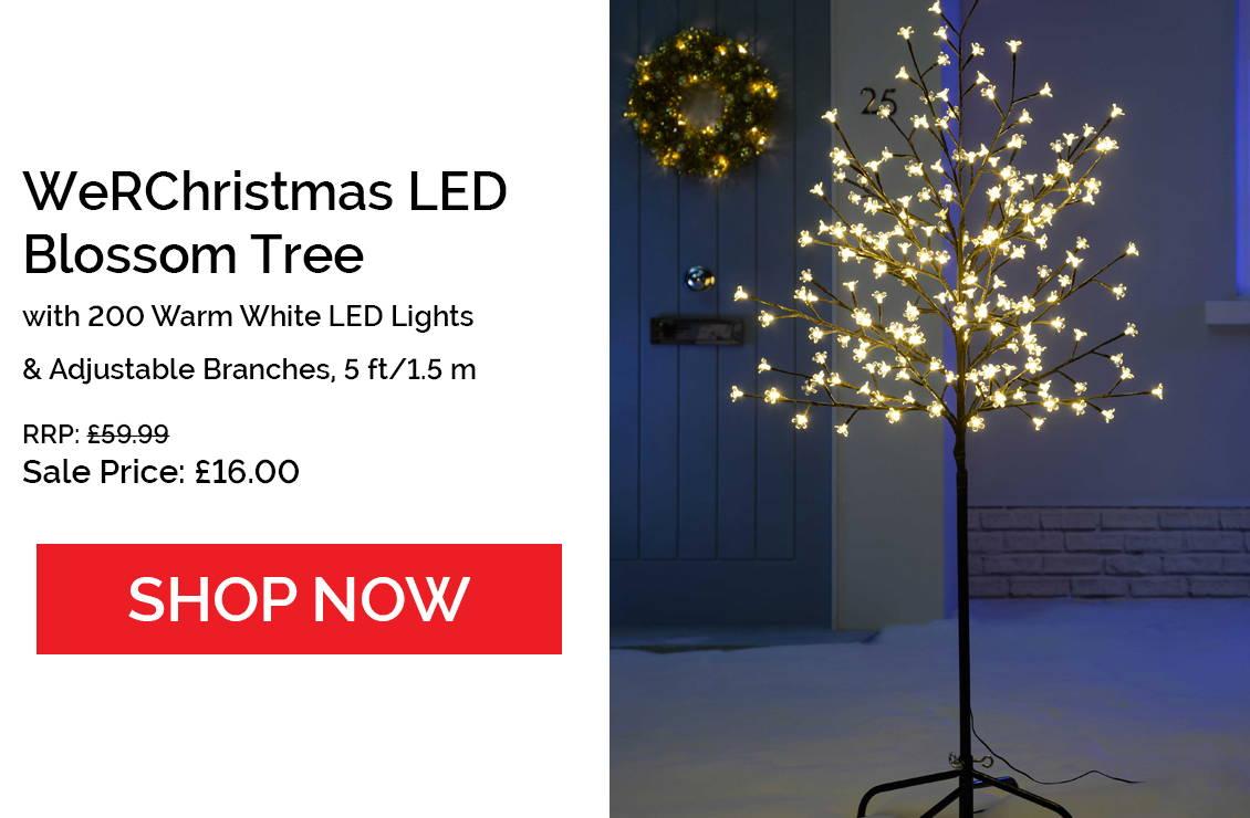 200 LED Blossom Tree