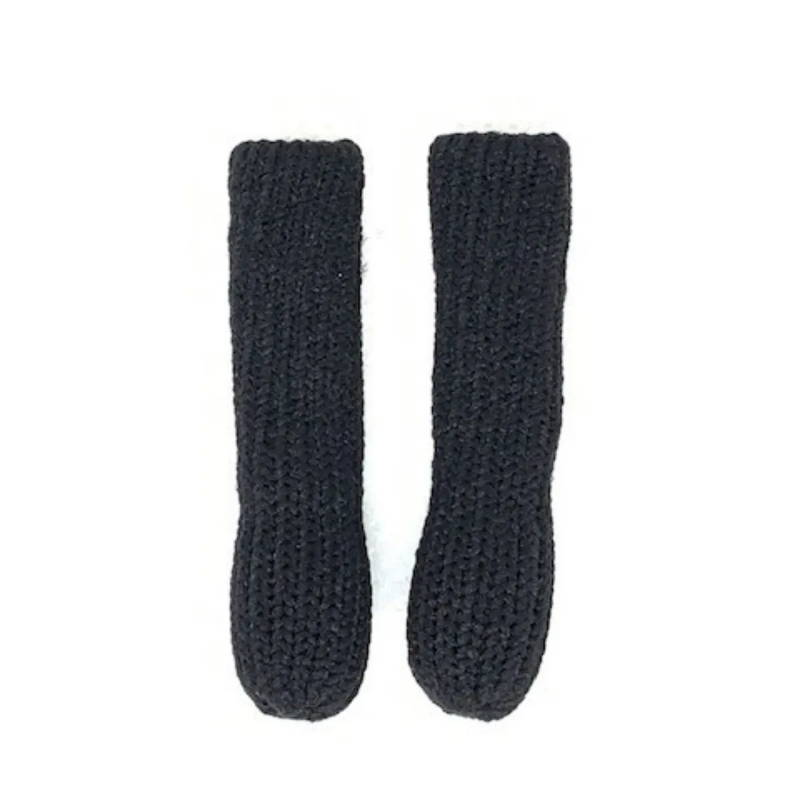 Cozy Eyeglass Socks Black