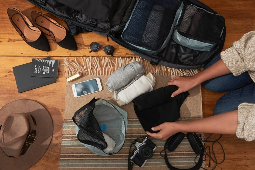 Minaal Carry-on 2.0 - The best backpack for carry-on travel, for men and women.