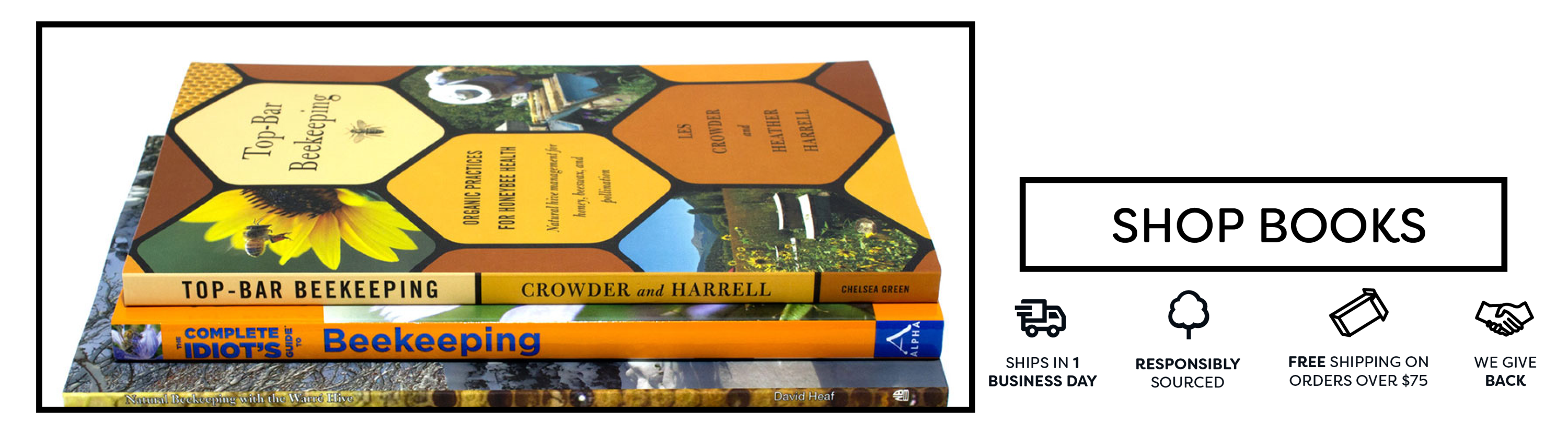 Natural and foundationless beekeeping books and DVDs. Curated selection of the best natural beekeeping literature available. You'll be amazed how interesting the life of a colony is!