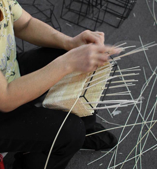 Babing, Wicker Bag, Rattan Bag, Eco Friendly Bag, Wicker Wings, Wicker Wings Bag, Process, Handmade, Handwoven, Artisan