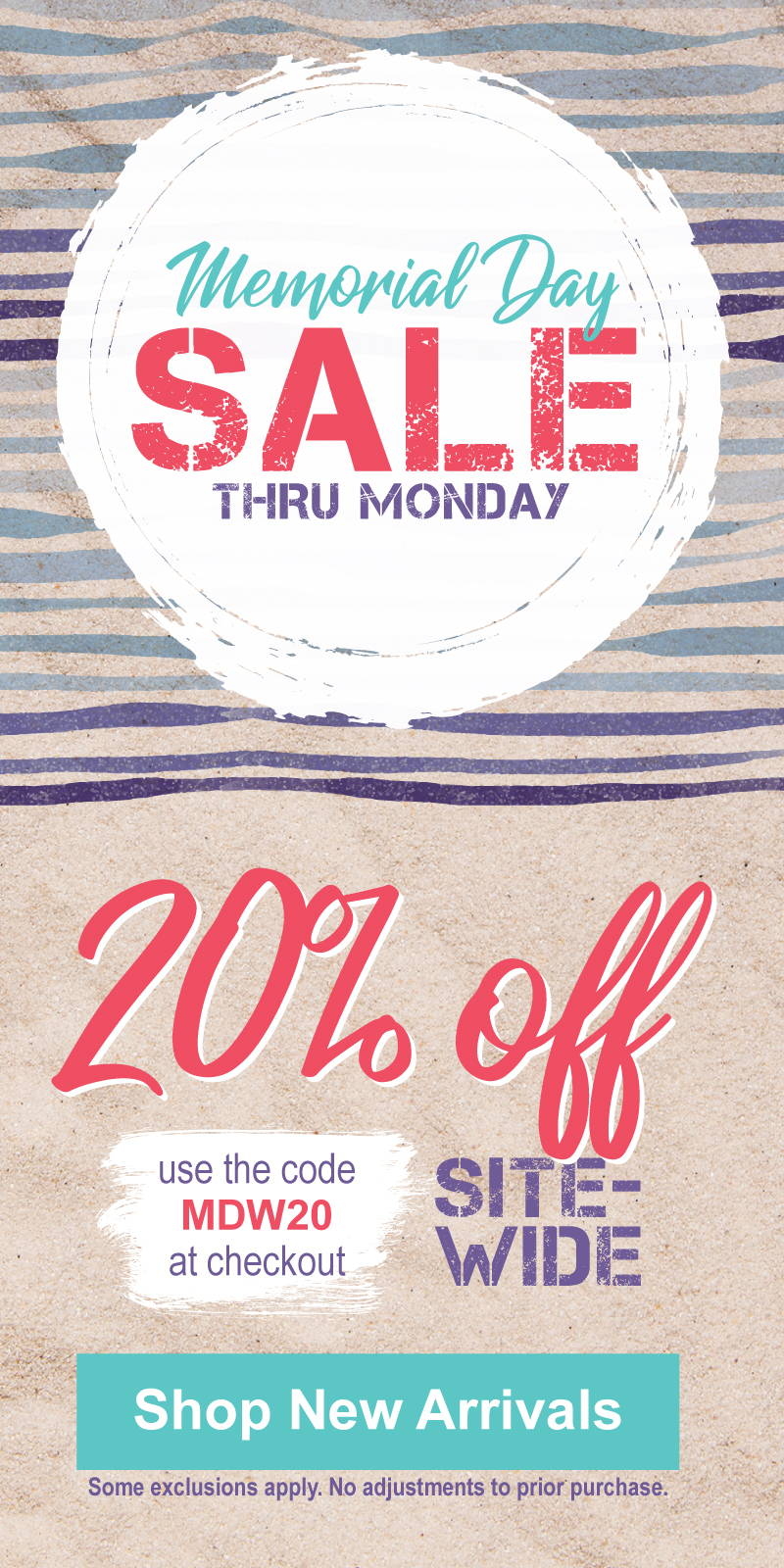 Memorial Day Sale is ON!